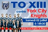 york city knights 2 juillet