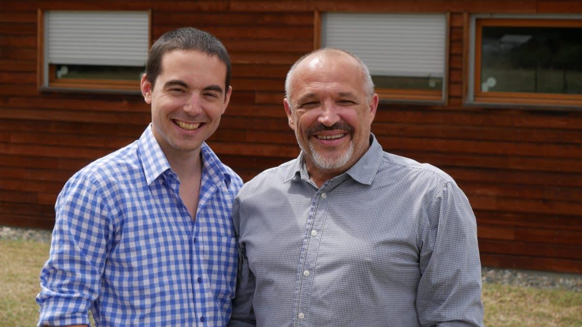 Paul Tolmer et Philippe Lapeyre investissent le web ©DR