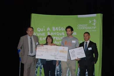 La Scop Palanca a reçu le Prix de l'initiative de l'ESS ©Antoine Vergnaud/JT