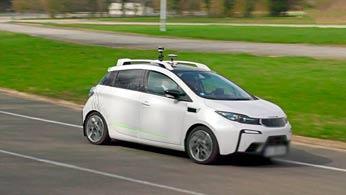 La voiture autonome. © DR