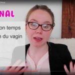 Capture d'écran de la chaîne YouTube de Léa Choue©DR