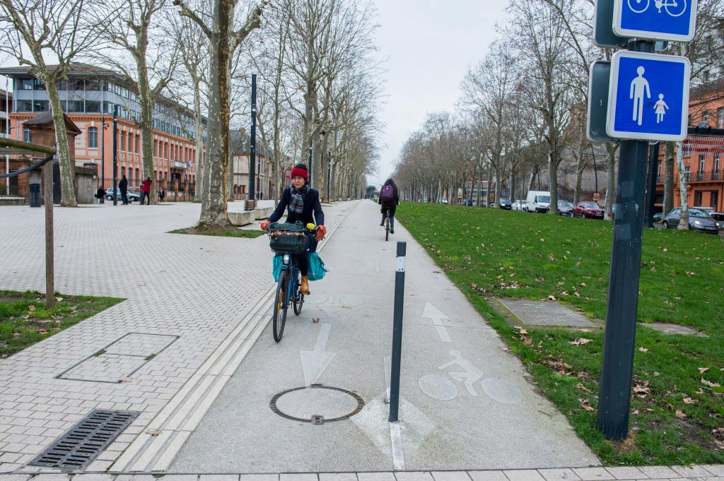 autoroute vélo toulouse