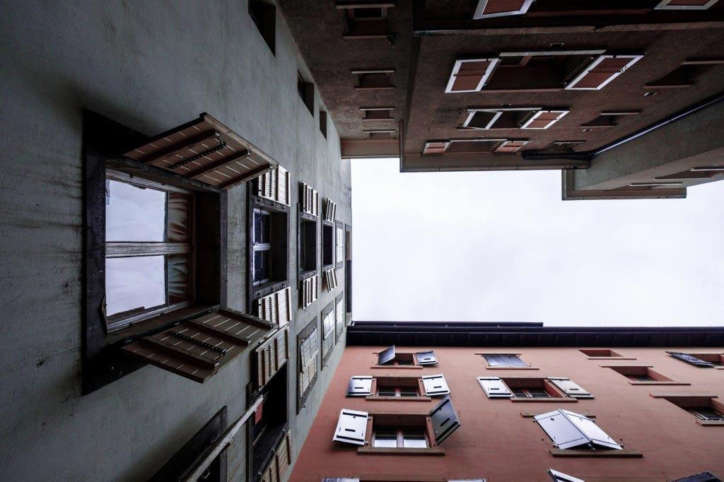 Volets immeuble