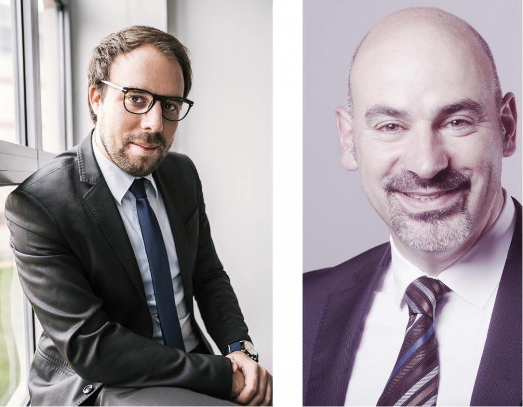 Vincent Gibert et Franck Biasotto