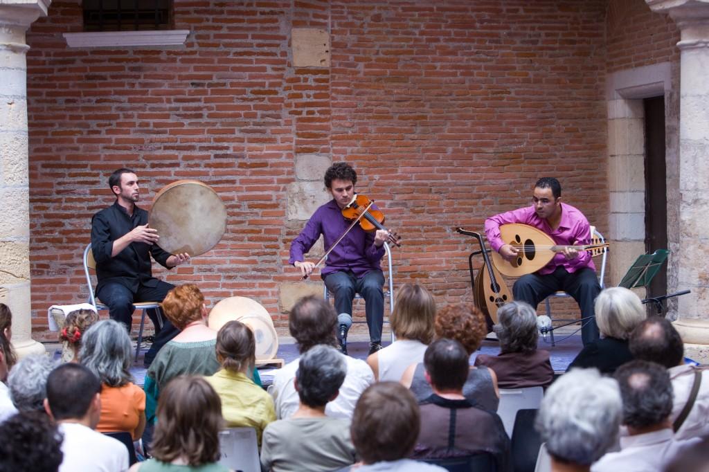 Lakhdar Hanou trio à La pause musicale