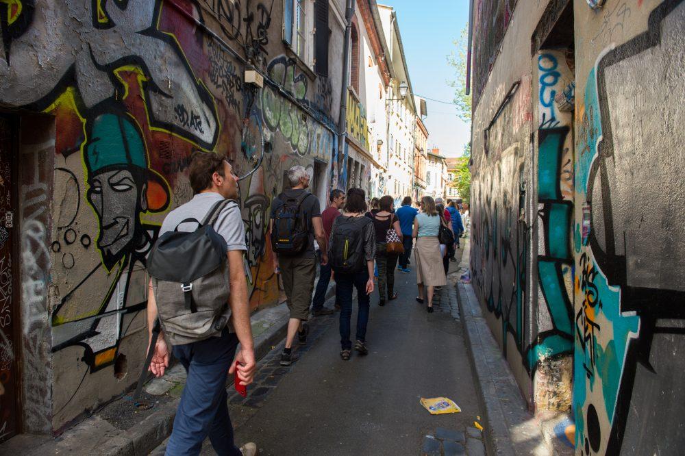 9d1404b9c0da7 Le graff tour   la légende urbaine de Toulouse - Le Journal ...