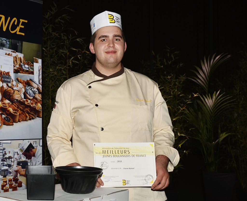 Vincent Richard meilleur jeune boulanger de France