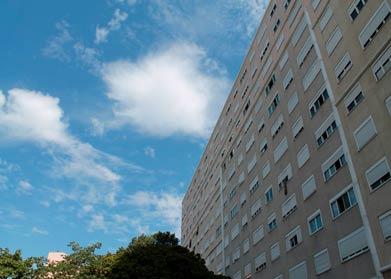 Les logements sociaux du quartier Empalot à Toulouse