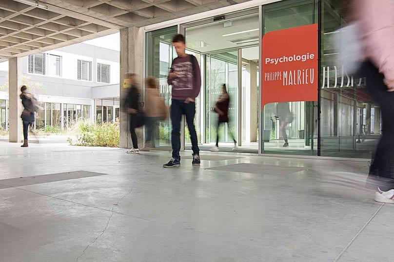 Grêve étudiants Psycho Toulouse