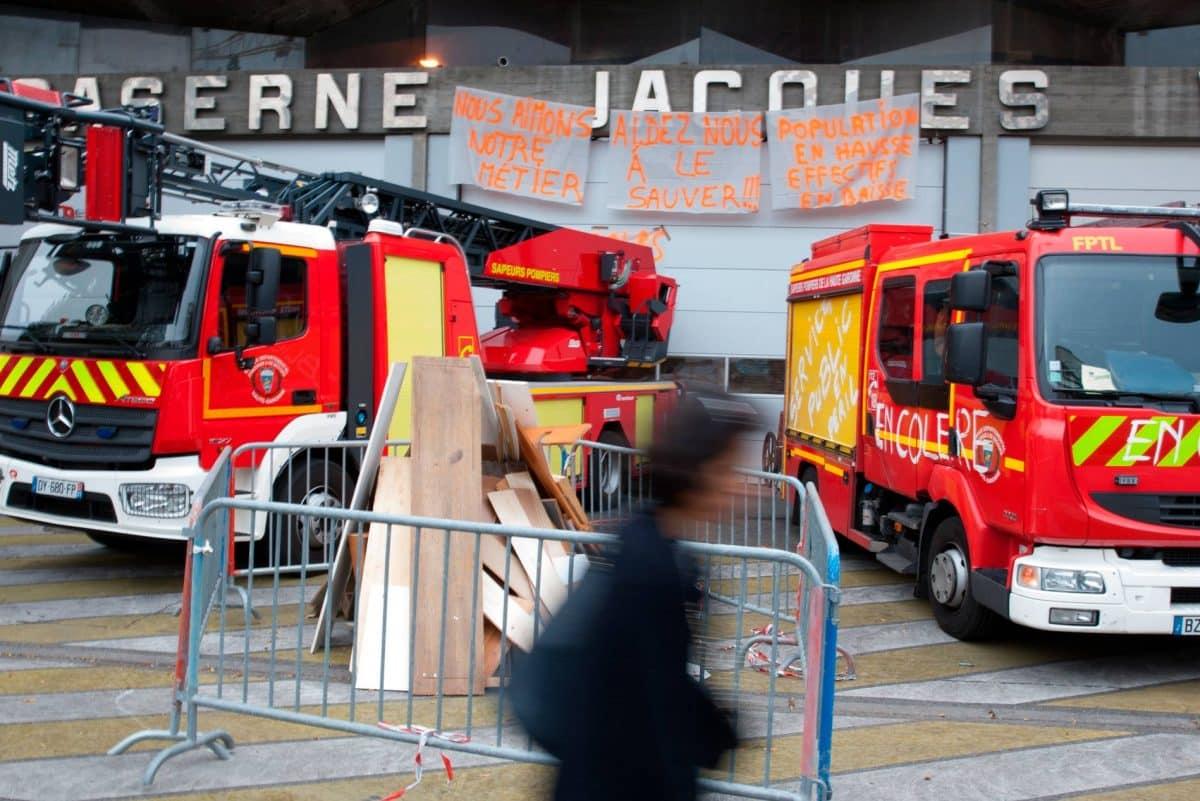Grève des pompiers toulousains