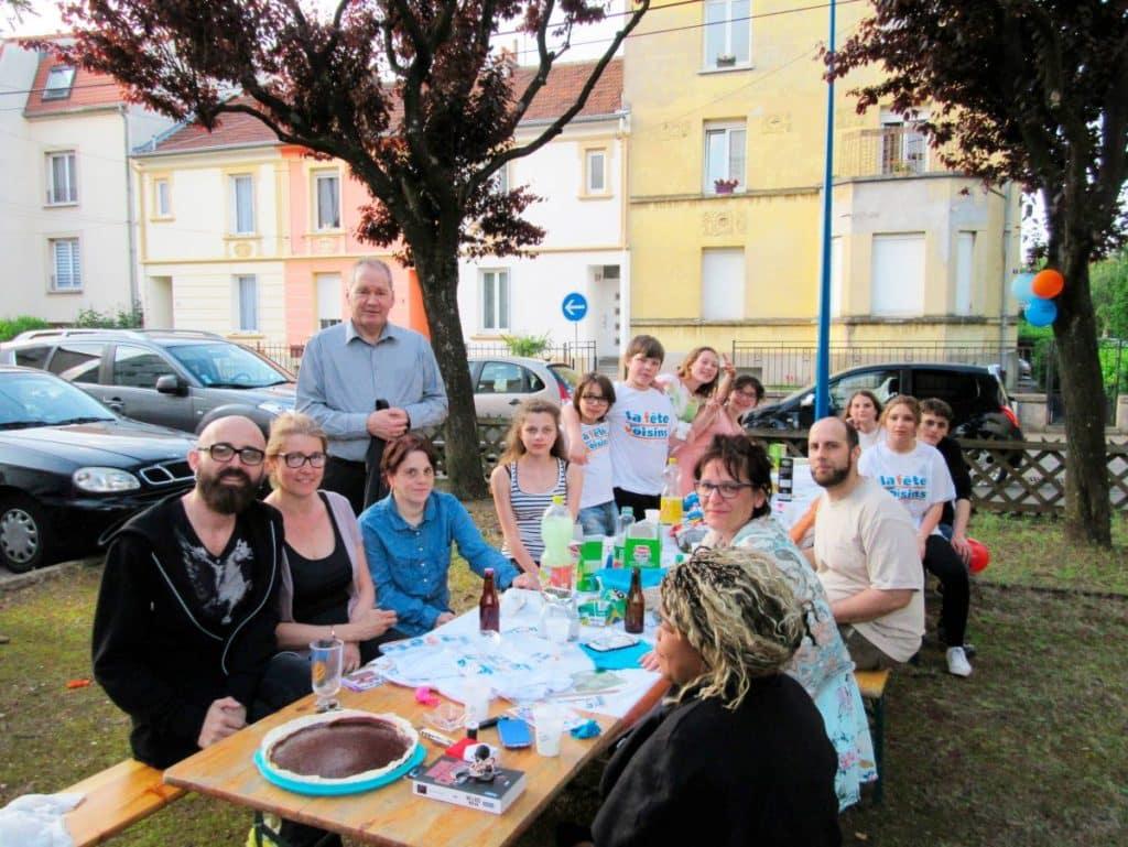 Fête voisins à Montauban