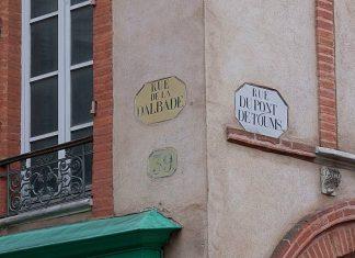 BQE plaques rues toulouse