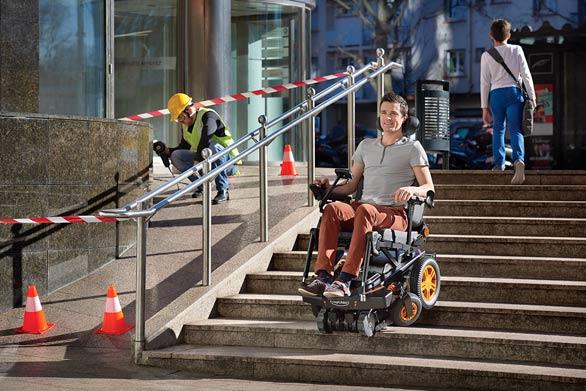 [Innovation] TopChair, le fauteuil roulant qui gravit les échelons