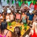 Une soirée tropicale pour le lancement d'une nouvelle start-up fruitée