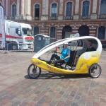 [Dossier] De plus en plus de vélo-taxi à Toulouse