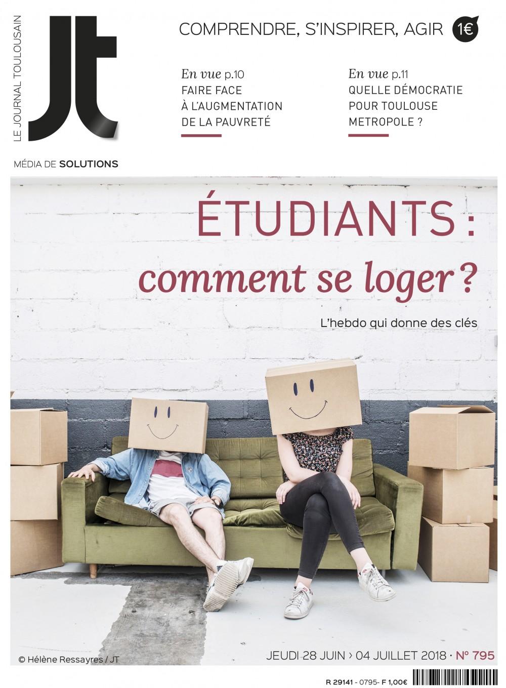 Une du Journal Toulousain 795