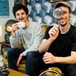 Samuel Juillot et Arnold Oswald, curieux cafetiers