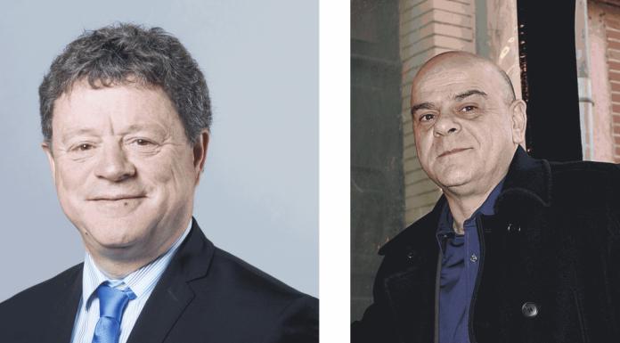 Jean-Jacques Bolzan et Pierre-Nicolas Bapt