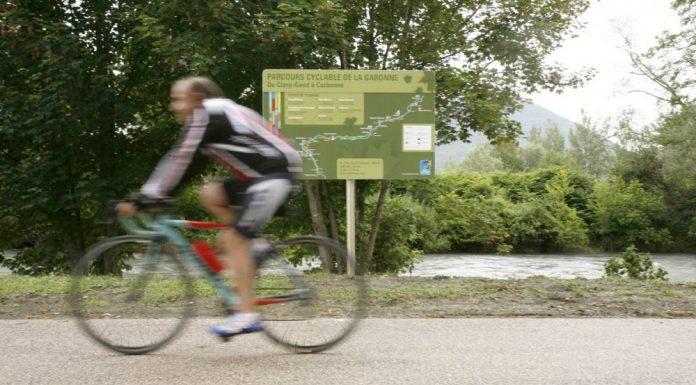 Parcours cyclable Trans-Garona