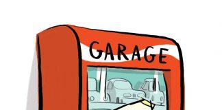 BQE ascenceur parking place Belfort