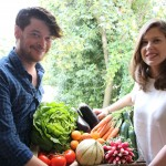 Faire ses courses au jardin avec Fruit and food