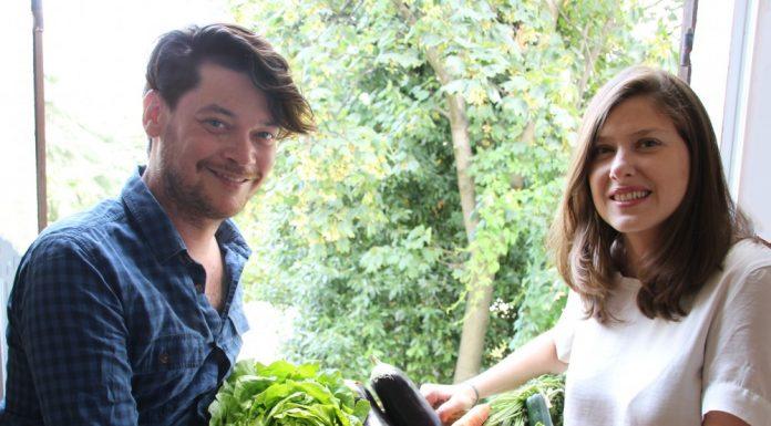 Benjamin Guibert et Inès Bazillier, les fondateurs Fruit and Food