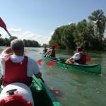 """[DOSSIER] Une """"rand'eau"""" en canoë pour apprécier autrement la Garonne"""