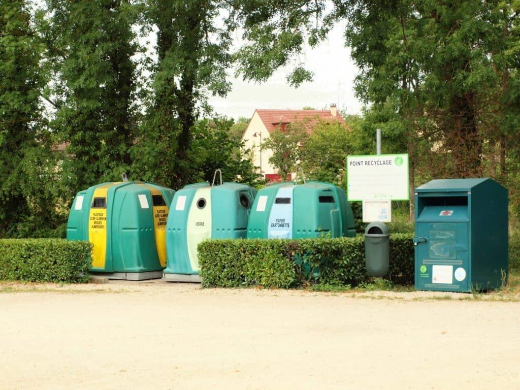 Visuel de container de recyclage
