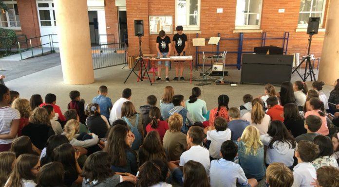 Rentrée en musique au collège Jules-Michelet de Toulouse
