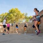 Des séances de sport au cœur de l'espace public avec l'association Check in Gym