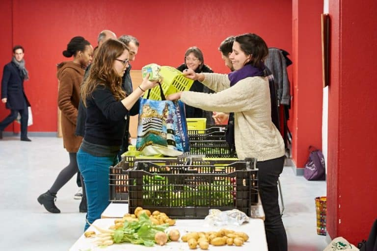 Zest : un groupement d'achat et des paniers de légumes bio à l'Arsenal