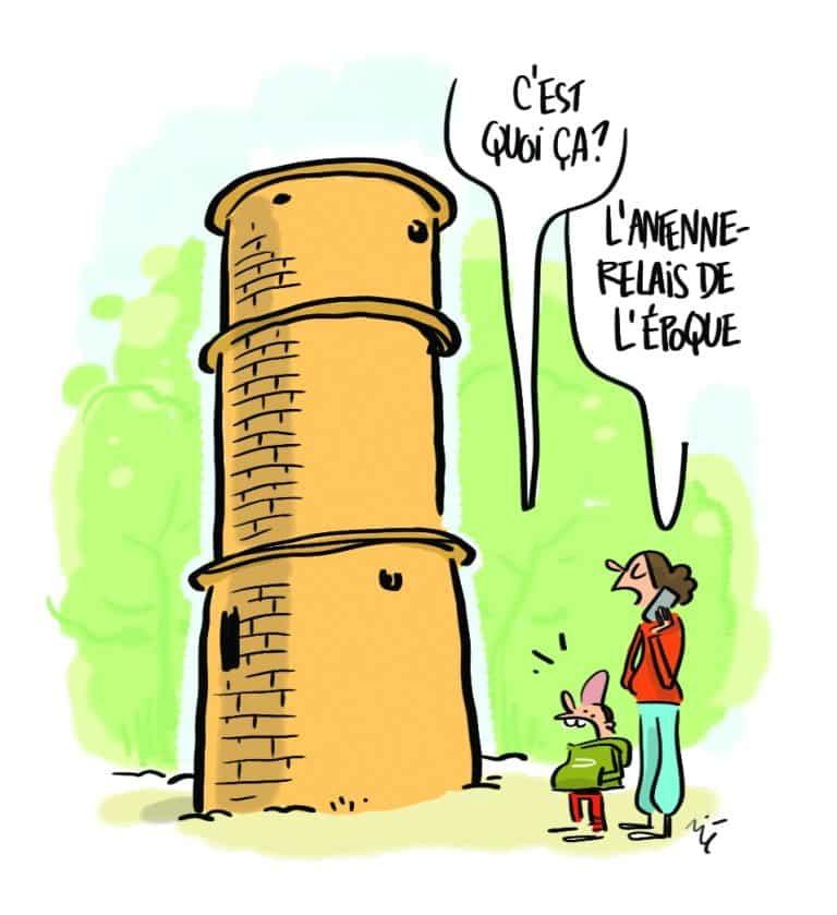 [#LeBQE] Y a-t-il une antenne relais cachée dans la forêt de Bouconne ?