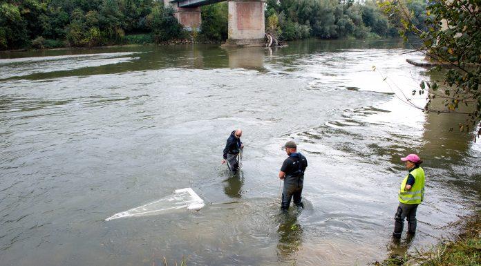 Prélèvement sur la Garonne - PlastiGar