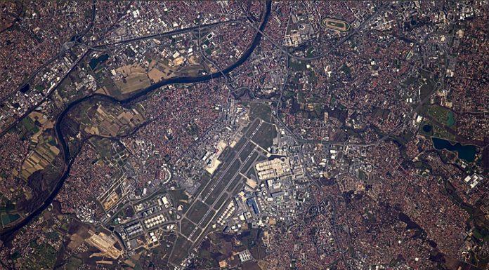 Toulouse vu du ciel