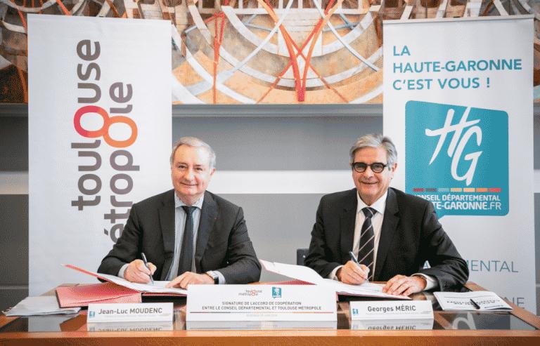 Georges Méric confiant sur l'intégrité du Département de la Haute-Garonne