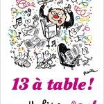 CONCOURS – GAGNEZ LE LIVRE « 13 à table  »