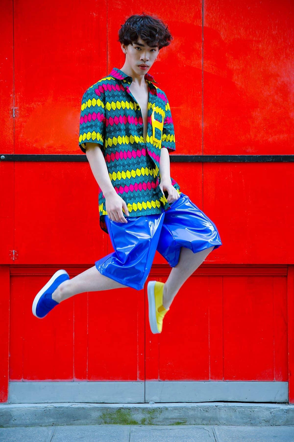 Les-vêtements-dessinés-par-Sakina-Msa-sont-100-recyclés-issus-des-poubelles-de-la-haute-couture©Sakina-Msa-