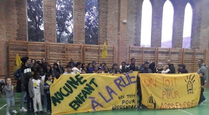 Sans-abri gymnase Saint-Sernin