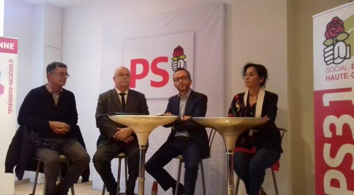 Conférence de presse parti socialiste