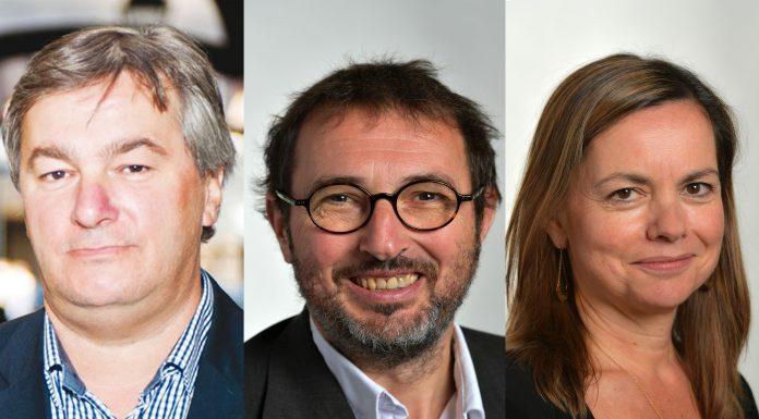 Forum des mobilités : François Briançon, Pierre Lacaze et Isabelle Hardy (Municipales 2020)