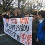 La colère jaune des lycéens et étudiants toulousains