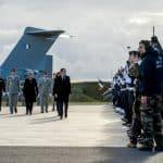 Macron a fait ses vœux aux armées sur la base de Francazal à Toulouse