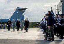 Macron fait ses vœux aux armées à Francazal-toulouse