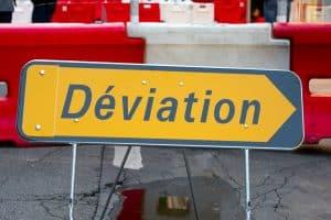 La circulation sera interrompue sur la RD 901 entre Castanet et Villefort pour les travaux de réparation du pont Louis-Philippe en Lozère. © Frédéric BISSON