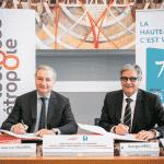 Coopération Métropole/Département : Emmanuel Macron salue l'accord trouvé entre les deux collectivités