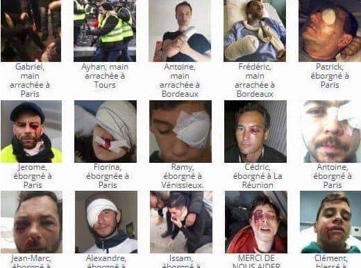 victimes violences policières