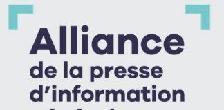 Logo Alliance pour la presse
