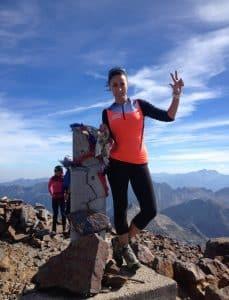 Vanessa Morales record Kilimandjaro