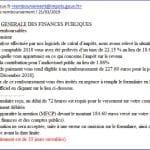 Finances publiques : Attention aux mails frauduleux !