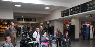 Les membres du CIAH auront désormais une meilleure accessibilité dans la gare. Crédit : Tristan Failler